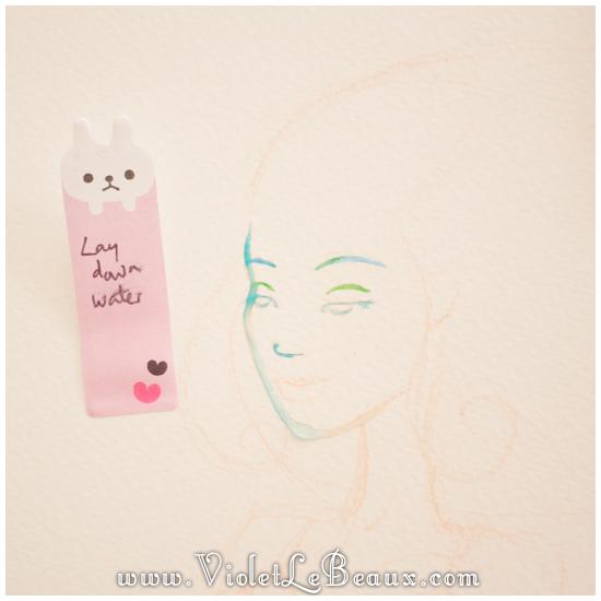 06 watercolor painting tutorial portrait Portrait   Lets Paint! Watercolour Walk Through