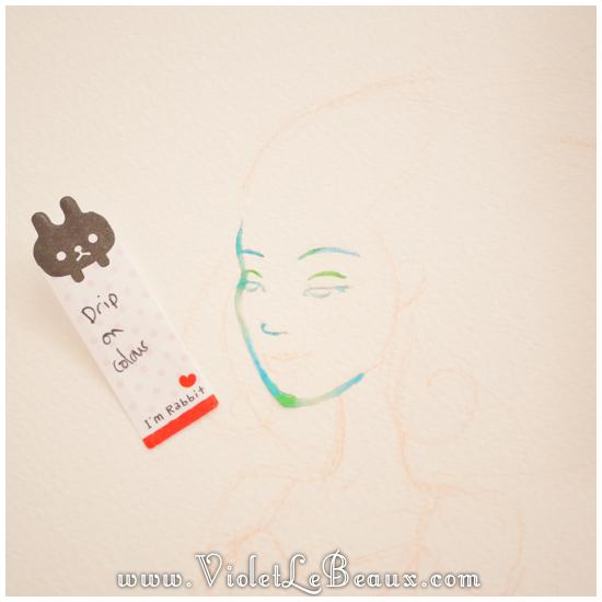 07 watercolor painting tutorial portrait Portrait   Lets Paint! Watercolour Walk Through