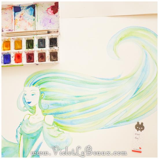 14 watercolor painting tutorial portrait Portrait   Lets Paint! Watercolour Walk Through