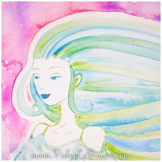 26 watercolor painting tutorial portrait Portrait   Lets Paint! Watercolour Walk Through