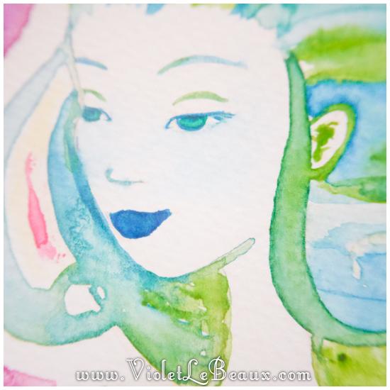 33 watercolor painting tutorial portrait Portrait   Lets Paint! Watercolour Walk Through