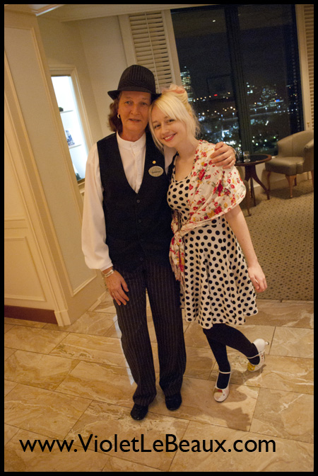 Violet and Jimmy's Night at the Langham