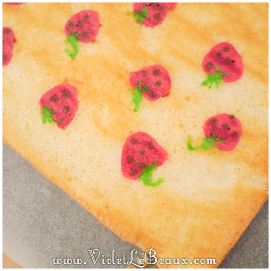 01 japanese deco roll cake strawberry recipe Strawberry Deco Roll Cake   Cute Food