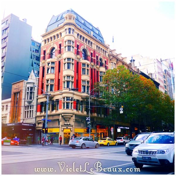 09 Melbourne Autumn Leaves Architecture Time!   Melbourne Snapshots