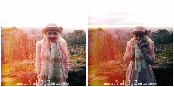 04 Bendigo Sunrise The No So Pink Cliffs and Mount Macedon   Snapshots