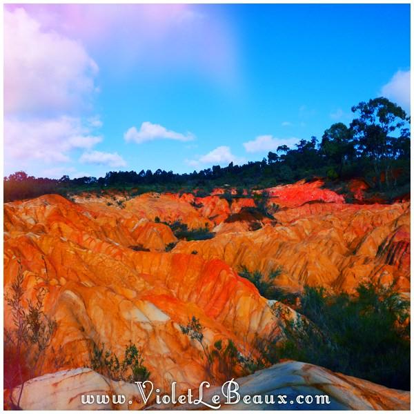 09 Bendigo Sunrise The No So Pink Cliffs and Mount Macedon   Snapshots