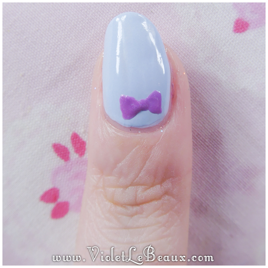 02how to do bow nail art Simple Nail Art  Bows!