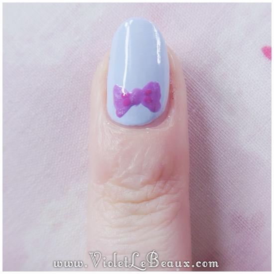 06how to do bow nail art Simple Nail Art  Bows!