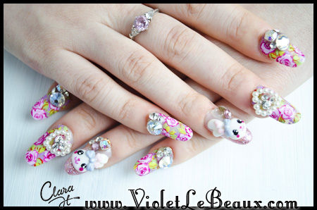 Elegant and beautiful japanese 3d nail art designs supplies and images source 1 prinsesfo Choice Image