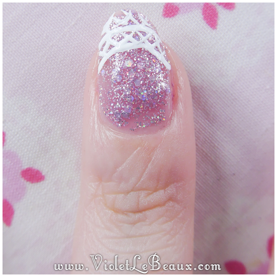 05 how to lace tip nail art Lace French Tips Nail Art Tutorial