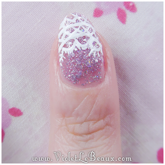 07 how to lace tip nail art Lace French Tips Nail Art Tutorial