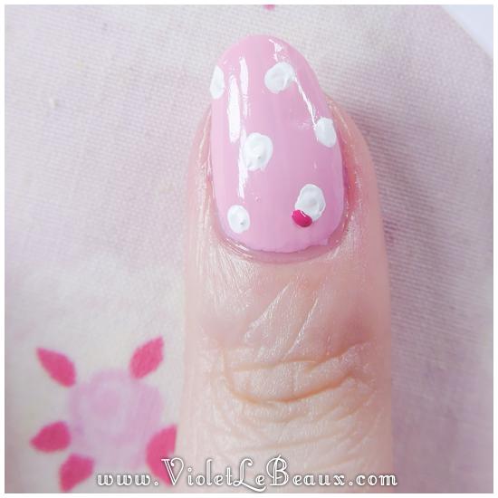 04 how to pastel pink leopard print nail art Pastel Leopard Print   Simple Nail Art Tutorial