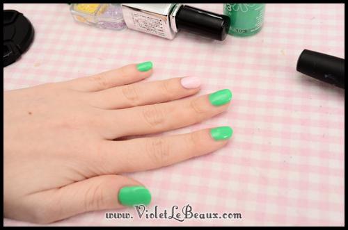 simple spring nail art77 Super Easy Summer Nail Art Tutorial