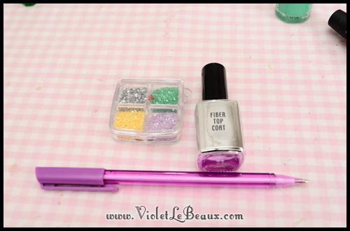 simple spring nail art78 Super Easy Summer Nail Art Tutorial