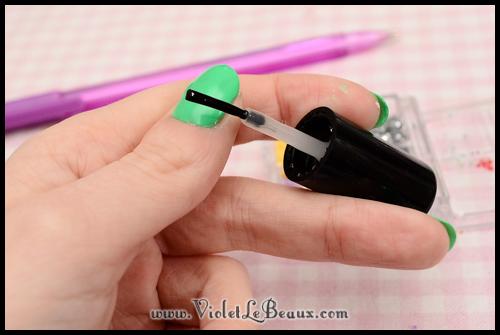 simple spring nail art79 Super Easy Summer Nail Art Tutorial