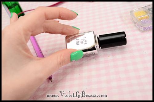 simple spring nail art86 Super Easy Summer Nail Art Tutorial