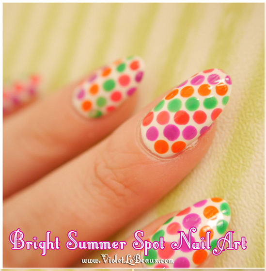 Simple-Summer-Spot-Nail-Art-Tutorial-Violet-LeBeaux-11