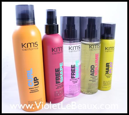 KMS Hair Styling Range
