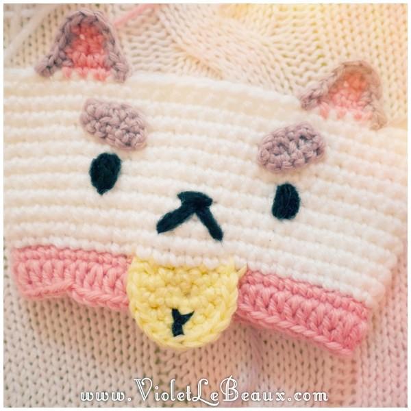 Bee And PuppyCat Crochet Coffee Cup Cozy Tutorial Violet ...