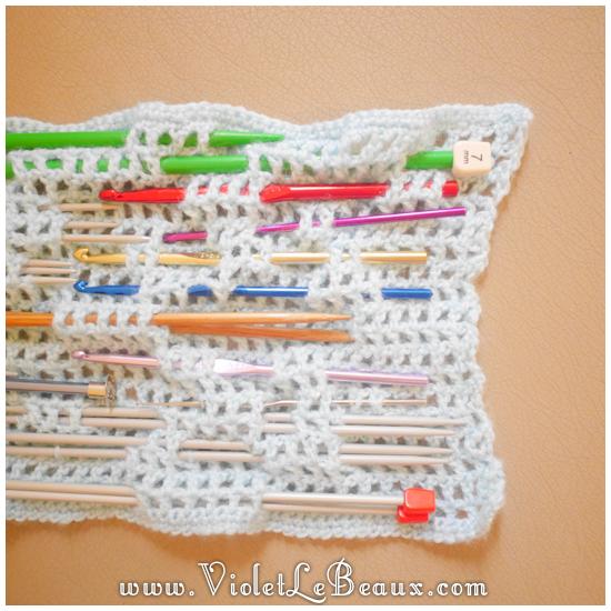 10 crochet needle case pattern Crochet Needle Case Tutorial