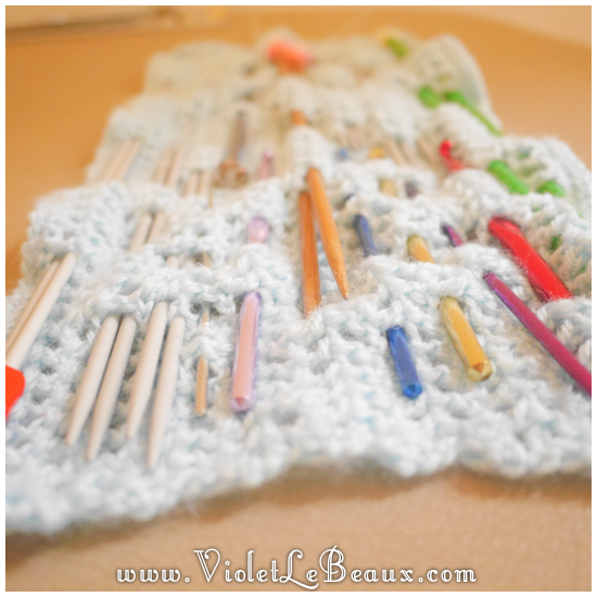 13 crochet needle case pattern Crochet Needle Case Tutorial