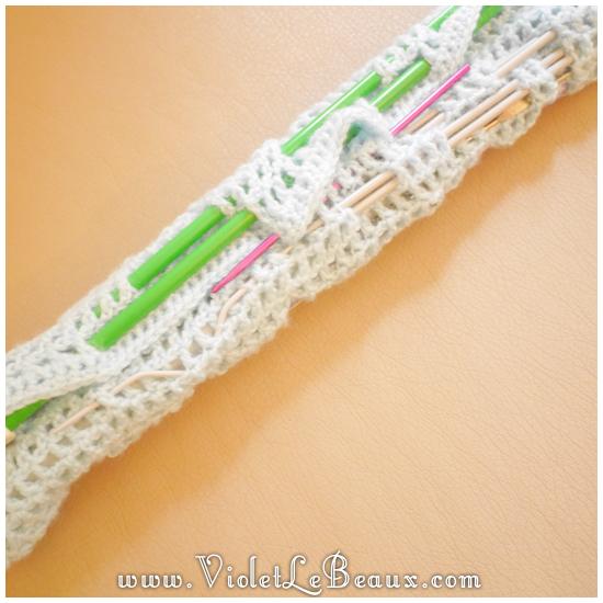 15 crochet needle case pattern Crochet Needle Case Tutorial