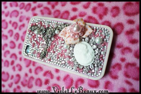 violetlebeauxp1060301 17240 New Decoden iPhone 4 Case