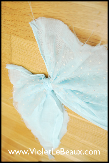 Floaty Deconstructed Hair Bow Tutorial