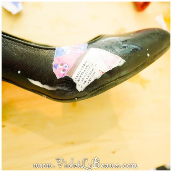 How To DIY Decoupage Shoes! Tutorial | Violet LeBeaux ...