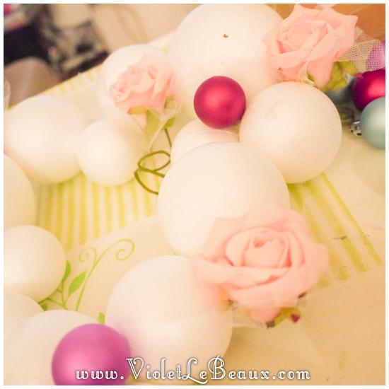 04 christmas heart garland Our Glitter Heart Wreath   Home Sweet Home