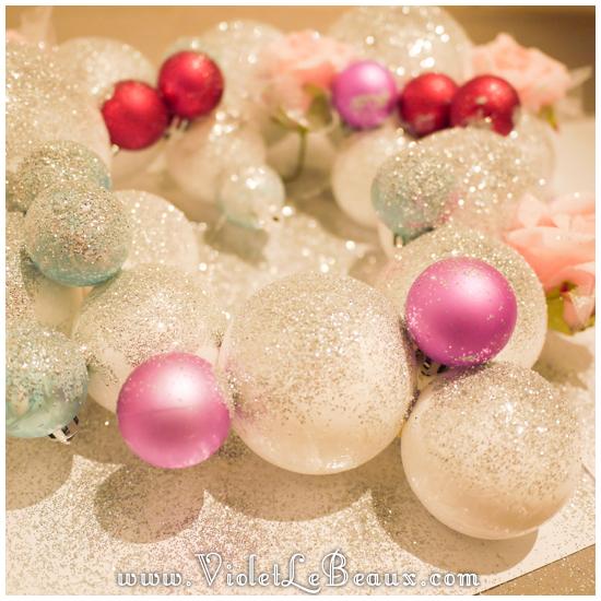 06 christmas heart garland Our Glitter Heart Wreath   Home Sweet Home
