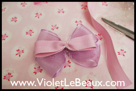 AP Style Double Bow Rosette Tutorial
