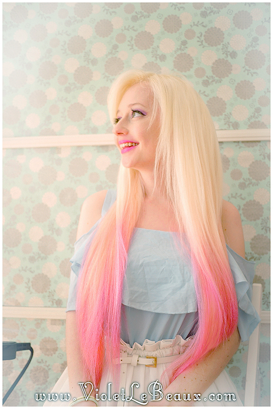 11 how to use hair extensions tutorial violet lebeaux How To Apply Clip In Extensions