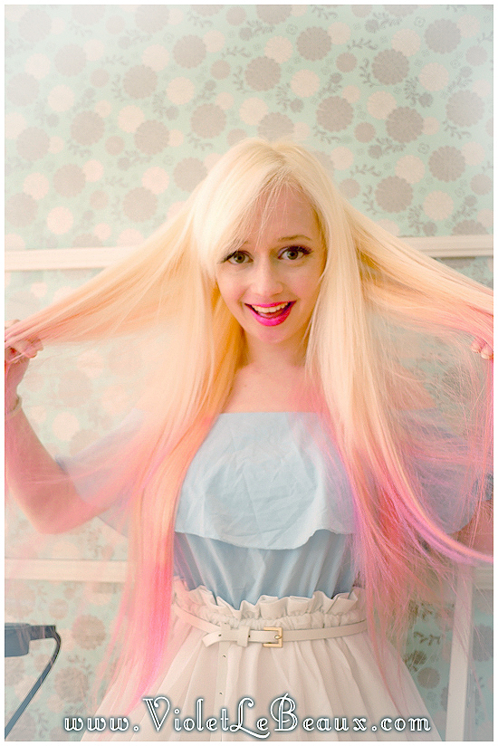 12 how to use hair extensions tutorial violet lebeaux How To Apply Clip In Extensions