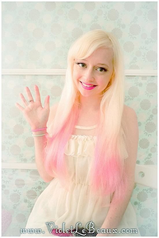 00 mini buns hairstyle tutorial violet lebeaux Mini Bun Hair Style Tutorial