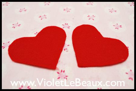 Heart Shaped Pin Cushion Tutorial