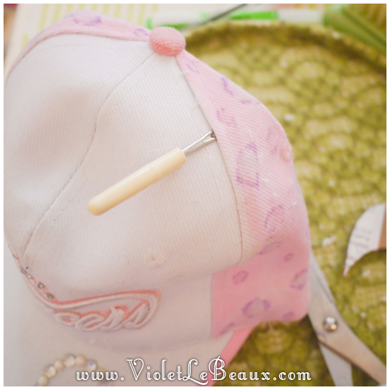 09 make a hunny ear hat DIY Bergamot Bunny Baseball Cap Tutorial!