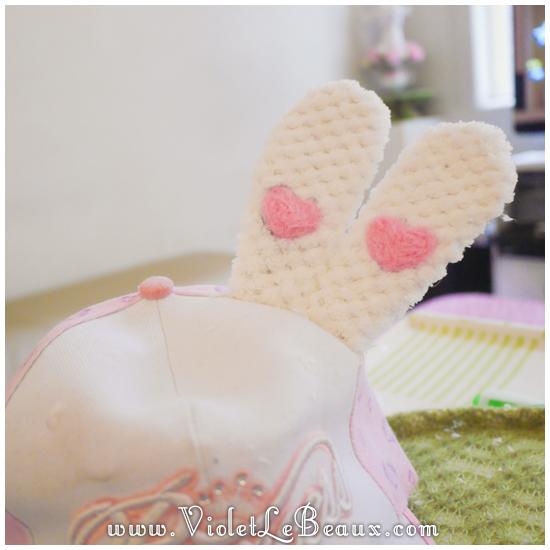 11 make a hunny ear hat DIY Bergamot Bunny Baseball Cap Tutorial!