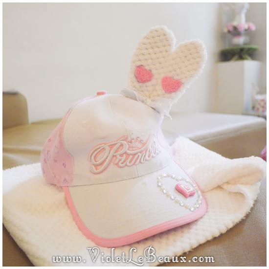 12 make a hunny ear hat DIY Bergamot Bunny Baseball Cap Tutorial!