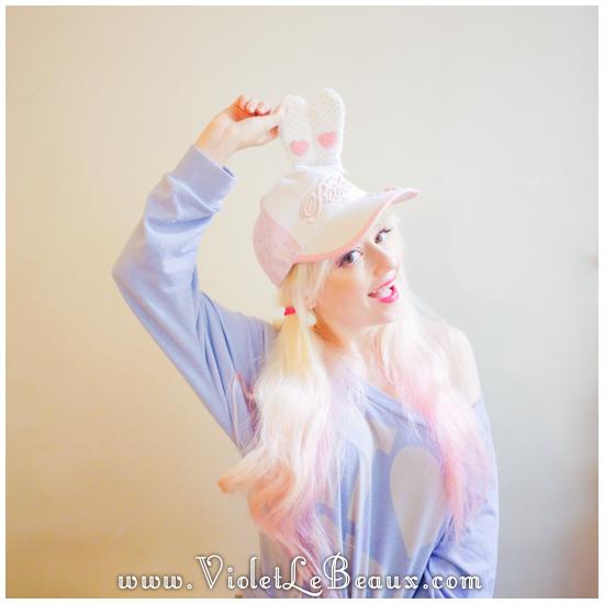 18 make a hunny ear hat DIY Bergamot Bunny Baseball Cap Tutorial!