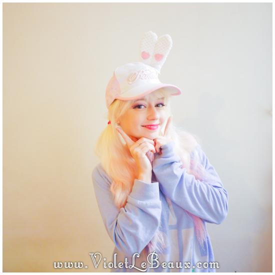 20 make a hunny ear hat DIY Bergamot Bunny Baseball Cap Tutorial!