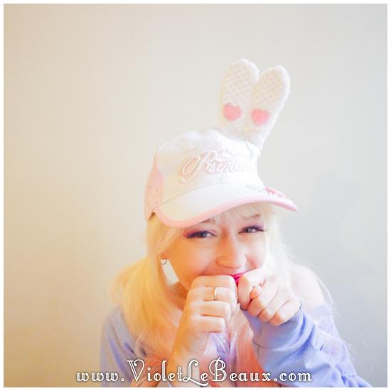 22 make a hunny ear hat DIY Bergamot Bunny Baseball Cap Tutorial!