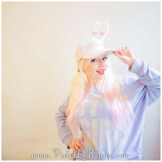 23 make a hunny ear hat DIY Bergamot Bunny Baseball Cap Tutorial!