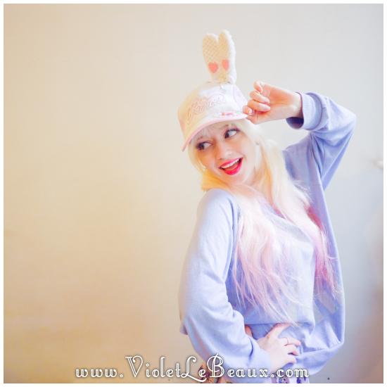 24 make a hunny ear hat DIY Bergamot Bunny Baseball Cap Tutorial!