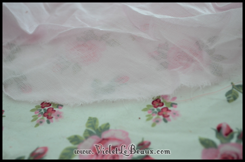 chiffon rose tutorial violetlebeaux 0887 How To Make Fabric Roses