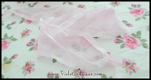 chiffon rose tutorial violetlebeaux 0888 How To Make Fabric Roses