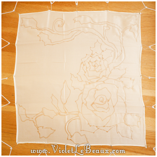 00 how to silk paint rose Watercolour Style Silk Painting Experiments!