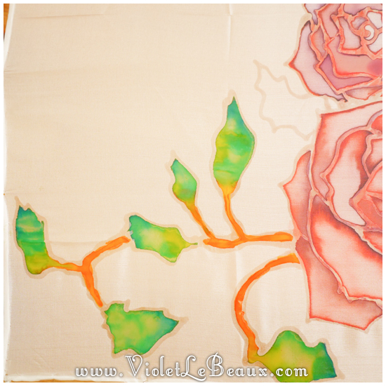 11 how to silk paint rose Watercolour Style Silk Painting Experiments!