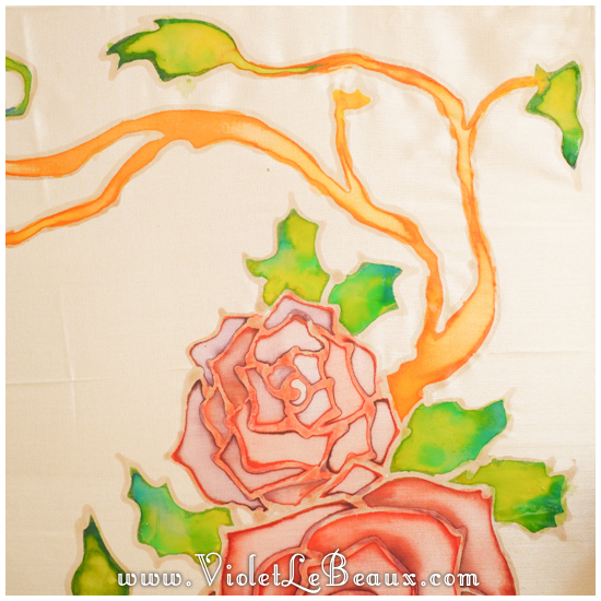 13 how to silk paint rose Watercolour Style Silk Painting Experiments!