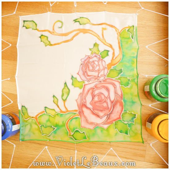 15 how to silk paint rose Watercolour Style Silk Painting Experiments!